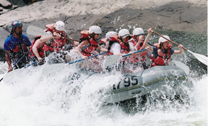 White Water Rafting Virginia Natural Bridge